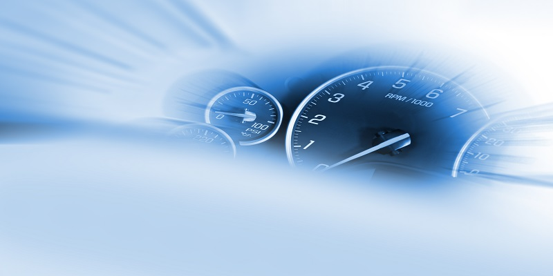 Speedometer Dash - Transportation Theme.